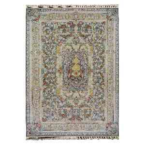 فرش ماشینی کاخ طرح مهراوه زمینه نقره ای،فروشگاه اینترنتی آف تپ