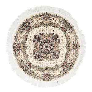 فرش دایره ای قالی تارا طرح شادکام ، فروشگاه اینترنتی آف تپ