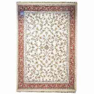 فرش ماشینی مهر و ماه طرح مهر آسا زمینه کرم ، فروشگاه اینترنتی آف تپ