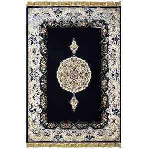 فرش ماشینی مهر و ماه طرح هالیدی کد 1221 زمینه سرمه ای، فروشگاه اینترنتی آف تپ