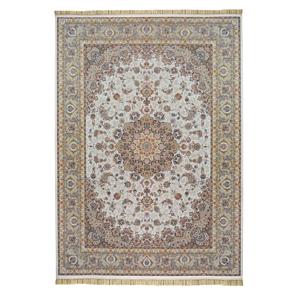 فرش ماشینی محتشم طرح شبنم زمینه کرم،فروشگاه اینترنتی آف تپ
