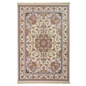 فرش ماشینی قالی مهر آریا طرح خطیبی کد 1222 زمینه کرم،فروشگاه اینترنتی آف تپ