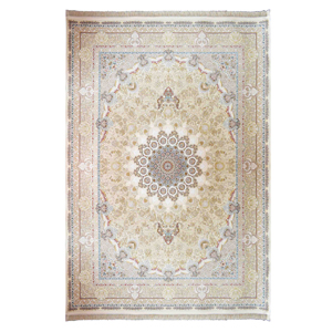 فرش ماشینی داریوش کد 1529 زمینه کرم چرکی، فروشگاه اینترنتی آف تپ