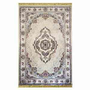 فرش ماشینی شاهانه شفقی طرح نیلوفر زمینه فیلی ،خرید آنلاین ، فروشگاه اینترنتی آف تپ