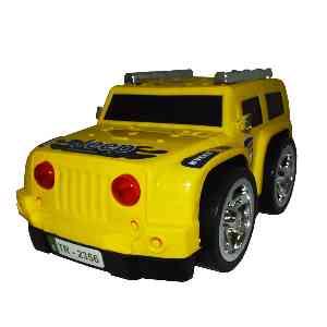 آفرود پلاستکی زرد رنگ JEEP کد 6734 ، خرید آنلاین ، فروشگاه اینترنتی آف تپ