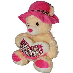 عروسک خرسی کرمی کد5723 ، خرید آنلاین ، فروشگاه اینترنتیآف تپ