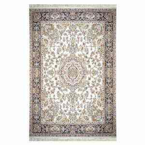 فرش ماشینی شاهانه شفقی طرح تبریز  زمینه کرم ، خرید آنلاین ، فروشگاه اینترنتی آف تپ