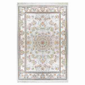 فرش ماشینی فرهون کد 1015 زمینه نقره ای ، خرید آنلاین ، فروشگاه اینترنتی آف تپ
