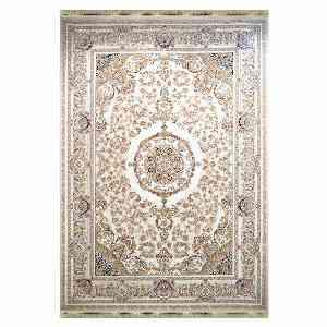 فرش ماشینی مهر و ماه طرح نگین الماس زمینه نقره ای ، خرید آنلاین ، فروشگاه اینترنتی آف تپ