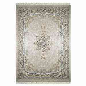 فرش ماشینی شاهانه شفقی کد 7015 زمینه سفید ، خرید آنلاین ، فروشگاه اینترنتی آف تپ