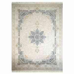 فرش شاهانه شفقی کد 7016 زمینه سفید ، خرید آنلاین ، فروشگاه اینترنتی آف تپ