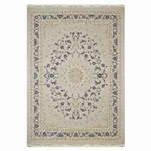 فرش ماشینی شاهانه شفقی کد 4016 زمینه سفید ، خرید آنلاین ، فروشگاه اینترنتی آف تپ