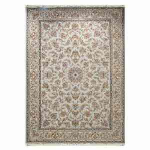 فرش ماشینی مهر و ماه طرح بهشت زمینه نقره ایی ، خرید آنلاین ، فروشگاه اینترنتی آف تپ