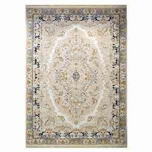 فرش ماشینی شاهانه شفقی کد 7021 زمینه سفید ، خرید آنلاین ، فروشگاه اینترنتی آف تپ