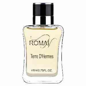 ادوپرفیوم مردانه ROMAN مدل TERRE D'HERMES حجم 50 میلی لیتر ، فروشگاه آنلاین آف تپ