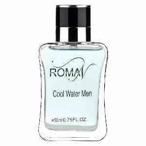 ادوپرفیوم مردانه ROMAN مدل COOL WATER MEN حجم 50 میلی لیتر ، فروشگاه اینترنتی آف تپ