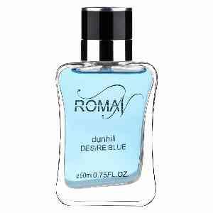 ادوپرفیوم مردانه ROMAN مدل DUNHILL DESIRE BLUE حجم 50 میلی لیتر ، فروشگاه اینترنتی آف تپ