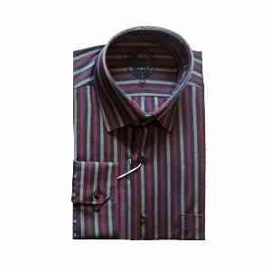 پیراهن مردانه آستین بلندطرح راه راه کد 2049، فروشگاه اینترنتی آف تپ، دارای تخفیفات ویژه، ارسال به سراسر کشور، دارای رنگبندی متفاوت،offtapp