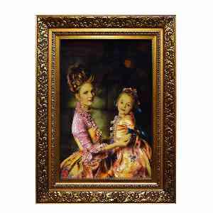 تابلو فرش دست بافت طرح مهر مادر  کد 1279، فروشگاه اینترنتی آف تپ