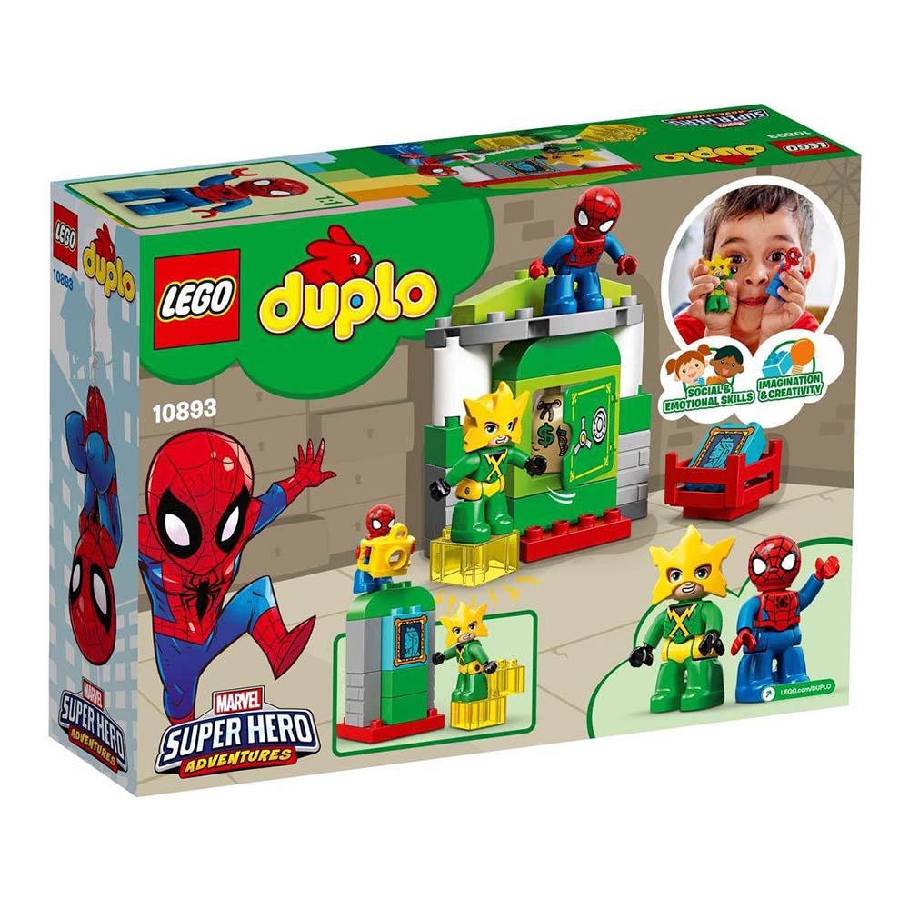 لگو سری DUPLO مدل 10893 SPIDER MAN VS ELECTRO،فروشگاه اینترنتی آف تپ