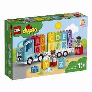 لگو سری Duplo مدل 10915 Alphabet Truck،فروشگاه اینترنتی آف تپ