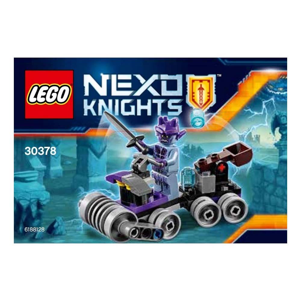 لگو سری Nexo Knights مدل Shrunken Headquarter 30378،فروشگاه اینترنتی آف تپ