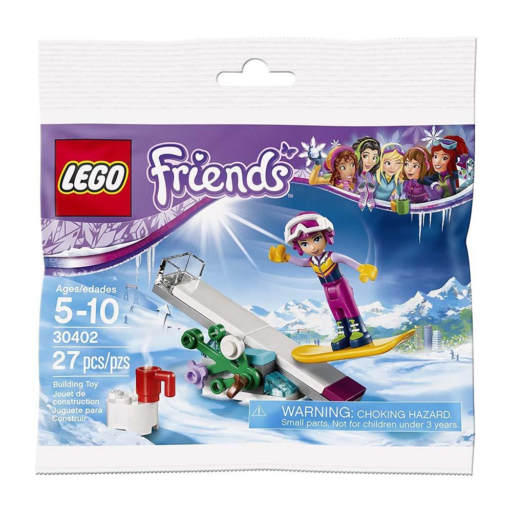 لگو سری Friends مدل Snowboard Tricks 30402،فروشگاه اینترنتی آف تپ