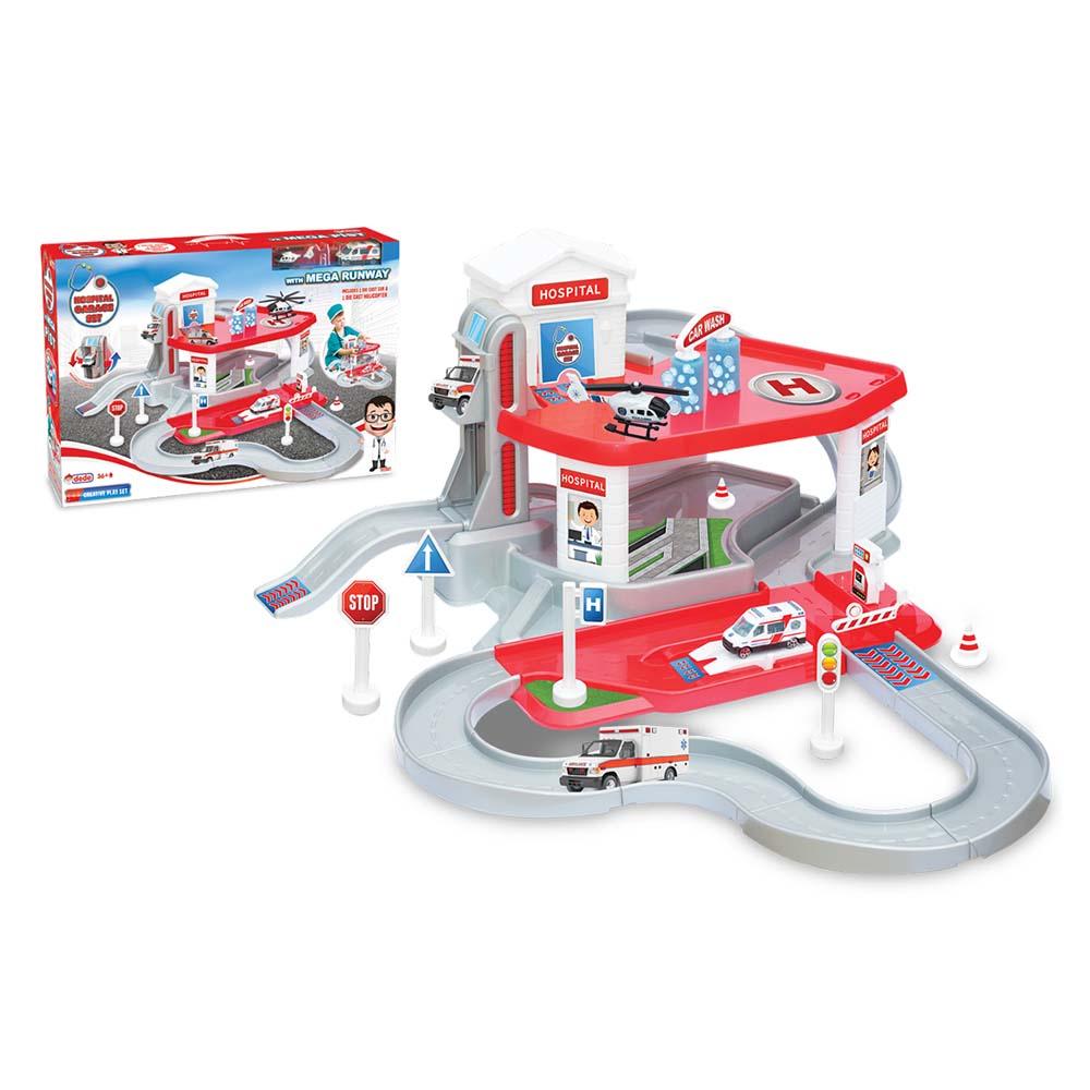کیت ماشین بازی دد طرح بیمارستان کد 03347،فروشگاه اینترنتی آف تپ