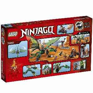 لگو سری Ninjago مدل The Green NR Dragon 70593،فروشگاه اینترنتی آف تپ