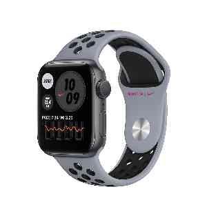 ساعت هوشمند اپل واچ سری 6 مدل 44mm Space Gray Aluminum Case with Nike Sport Band،فروشگاه اینترنتی آف تپ