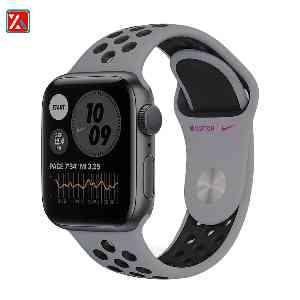 ساعت هوشمند اپل واچ سری 6 مدل 40mm Space Gray Aluminum Case with Nike Sport Band،فروشگاه اینترنتی آف تپ