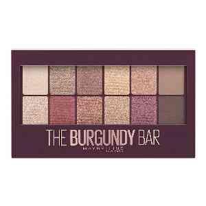 پالت سایه چشم میبلین مدل The Burgundy Bar،فروشگاه اینترنتی آف تپ