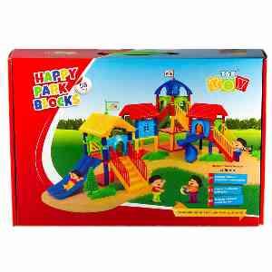 بازی آموزشی 58 تکه تک توی Tak Toy مدل Happy Park Blocks ، فروشگاه اینترنتی اف تپ