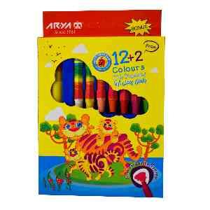 پاستل روغنی2+12 رنگ  آریا ARYA ،  ارسال رایگان، تخفیف، ارزان، باکیفیت، خرید آنلاین، فروشگاه اینترنتی آف تپ OFFTAPP