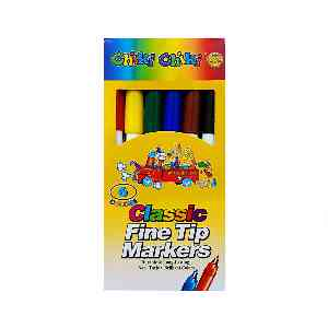 ماژیک 6 رنگ چیکی چیکی  chiki chiki،  ارسال رایگان، تخفیف، ارزان، باکیفیت، خرید آنلاین، فروشگاه اینترنتی آف تپ OFFTAPP