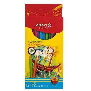 مداد رنگی 1+12 آریا ARYA کدA01 ،  ارسال رایگان، تخفیف، ارزان، باکیفیت، خرید آنلاین، فروشگاه اینترنتی آف تپ OFFTAPP