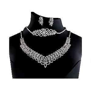سرویس جواهری نقره آکسو گلد کد ES10،فروشگاه آنلاین آف تپ،خرید آنلاین
