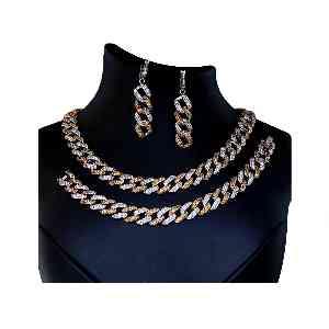 سرویس جواهری نقره آکسو گلد کد ES12،فروشگاه آنلاین آف تپ،خرید آنلاین