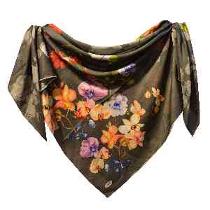 روسری دست دوز مجلسی طرح گل B206 ،ارسال رایگان،تخفیف،ارزان،باکیفیت،خرید آنلاین،فروشگاه اینترنتی آف تپ،offtap