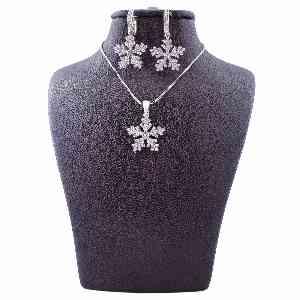 نیم ست نقره زنانه مدل دانه برف AMT-N081،ارسال رایگان ، تخفیف ، ارزان ،با کیفیت ،خرید آنلاین ،فروشگاه اینترنتی OFFTAPP