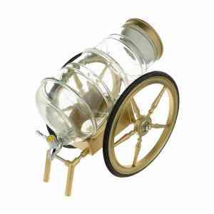 کلمن طرح درشکه طلایی cs ظرفیت 6 لیتر